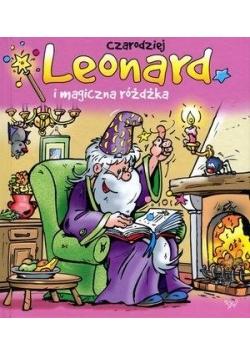 Czarodziej Leonard i magiczna różdżka