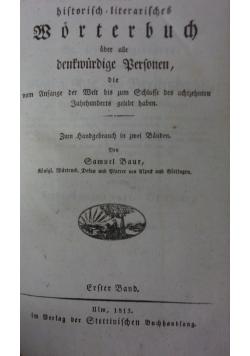 Rleins bistorisch=literaisches, 1813r.