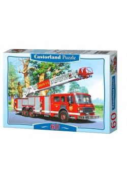 Puzzle 60 Wóz strażacki CASTOR
