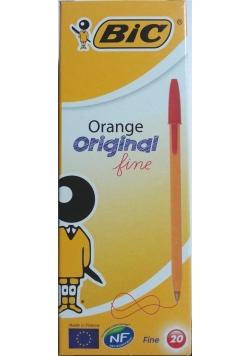 Długopis Orange Original czerwony (20szt) BIC