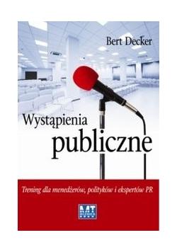 Wystąpienia publiczne