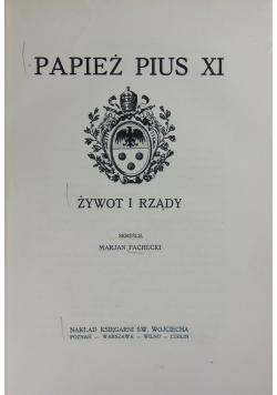 Papież pius XI 1930 r.