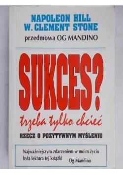 Sukces? Trzeba tylko chcieć