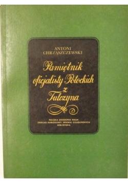 Pamiętnik oficjalisty Potockich z Tulczyna
