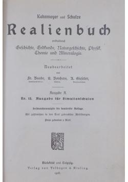 Realienbuch , 1910 r.