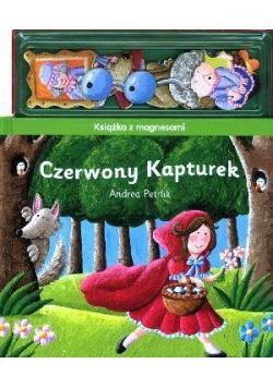 Książka z magnesami - Czerwony Kapturek