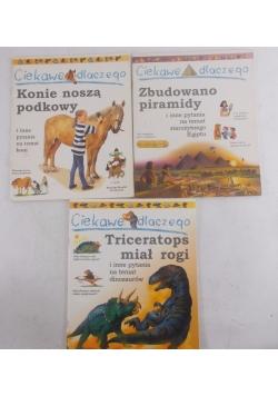 Ciekawe dlaczego zestaw trzech książek