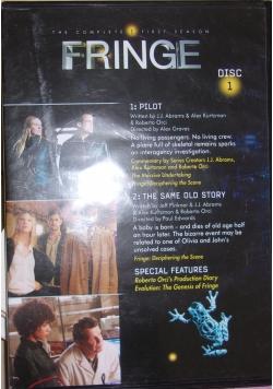 Fringe,płyta DVD