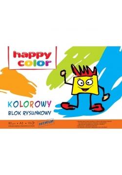 Blok rysunkowy A3/15K kolorowy HAPPY COLOR