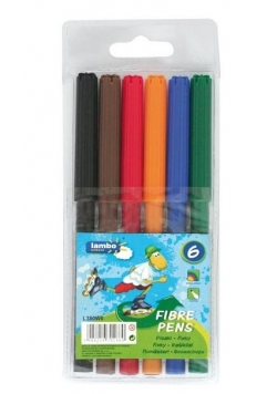 Pisaki 6 kolorów LAMBO