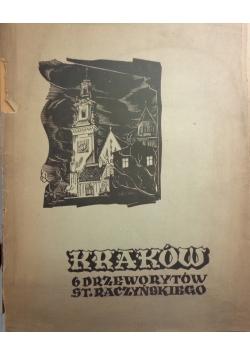 Kraków. 6 drzeworytów Stanisława Raczyńskiego, 1939 r.