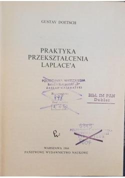 Praktyka przekształcenia Laplace'a