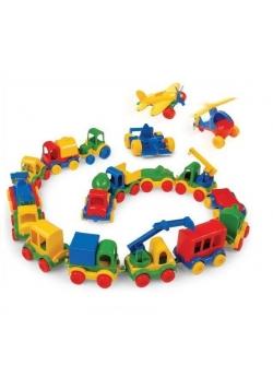 Kid Cars Autka, różne rodzaje