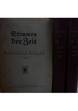 Stimmen der Zeit - 108 \ 109 \ 110 - 1925 r.