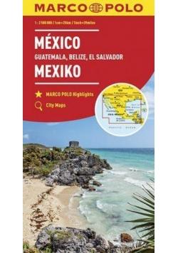 Mapy kontynentalne Meksyk...2,5 mil. MARCO POLO