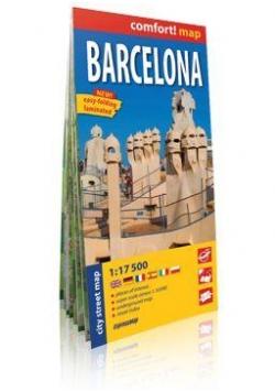 Comfort!map Barcelona 1:17 500 plan miasta