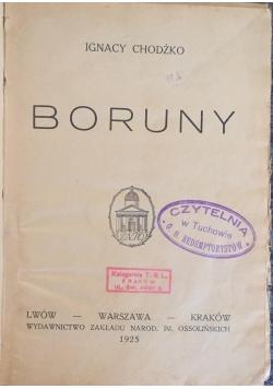 Boruny, 1925 r.