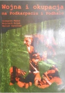 Wojna i okupacja na Podkarpaciu i Podhalu