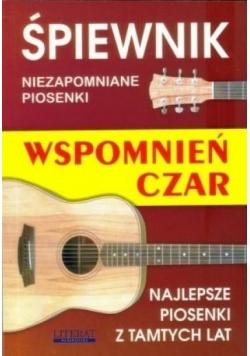 Śpiewnik wspomnień czar w.2016