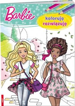 Barbie Koloruję rozwiązuję