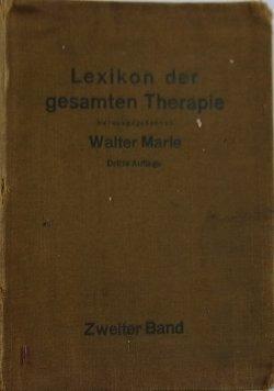 LExikon der gesamten Therapie, 1930 r.