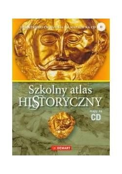 Szkolny atlas historyczny z płytą CD