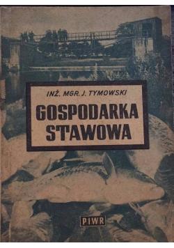 Gospodarka stawowa, 1950 r.