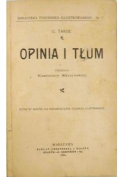 Opinia i tłum, 1904 r.