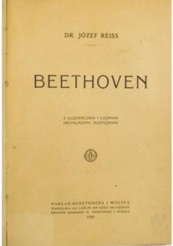 Beethoven, 1920 r.