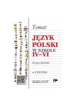 Język Polski w Szkole IVVI nr. 1 2015/2016