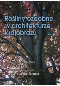 Rośliny ozdobne w architekturze krajobrazu Część 1