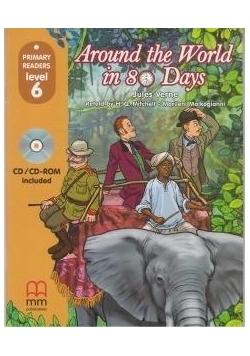 Around The World in 80 Days + CD-ROM