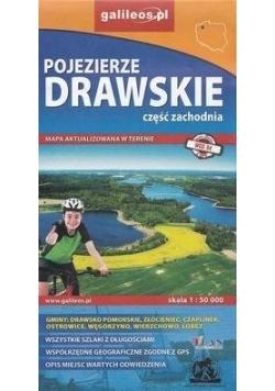 Mapa - Pojezierze Drawskie cz. zachodnia 1:50 000