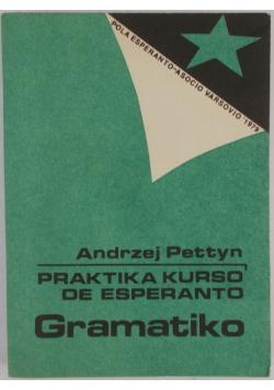 Praktika kurso de esperanto. Gramatiko