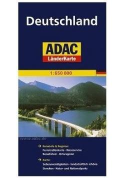LanderKarte ADAC. Niemcy 1:650 000 mapa