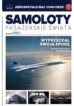 Samoloty pasażerskie świata T.7 Aerospatiale/BAC..