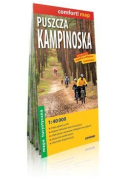 Comfort!map Puszcza Kampinoska 1:40 000 mapa