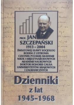 Dzienniki z lat 1945-1968