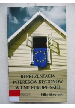 Reprezentacja interesów regionów w Unii Europejskiej
