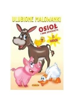 Ulubione malowanki - Osioł i inne zwierzęta