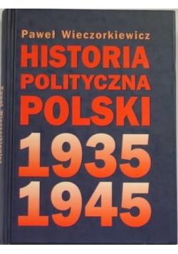 Historia polityczna Polski 1935- 1945