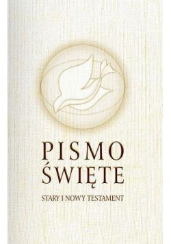 Pismo Święte ST i NT małe białe