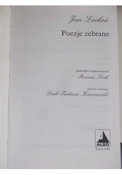 Poezje Zebrane Lechoń Jan 6000 Zł Tezeuszpl