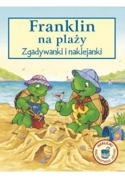 Franklin na plaży - zgadywanki i naklejanki wyd.2