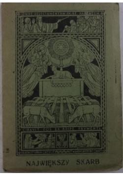 Najświętszy skarb, 1937r.