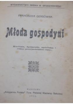 Młoda gospodyni , 1922 r.