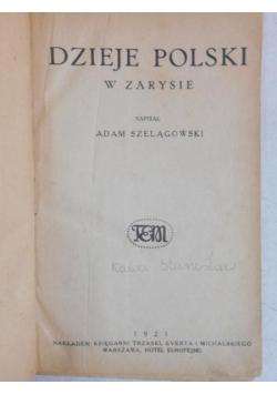 Dzieje Polski w zarysie, 1921 r.