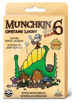Munchkin 6 Opętane Lochy BLACK MONK