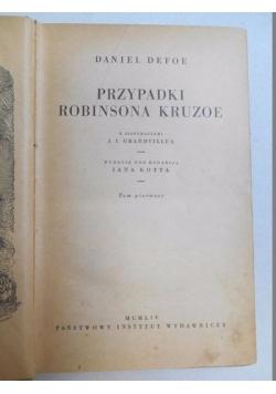 Przypadki robinsona Kruzoe, t. I