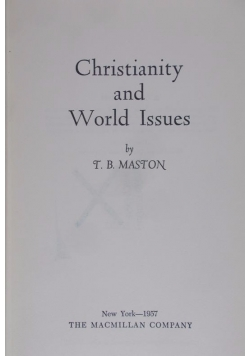 Christianity and World Issues